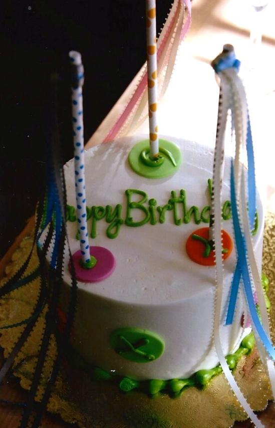 Annie's Birthday cake