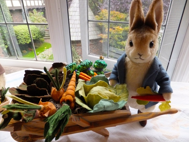 Here comes Peter Rabbit!