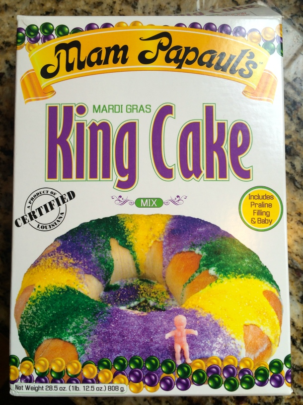 King Cake via box mix, I'll take it!