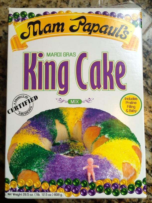 King Cake via box mix, I'll take it!